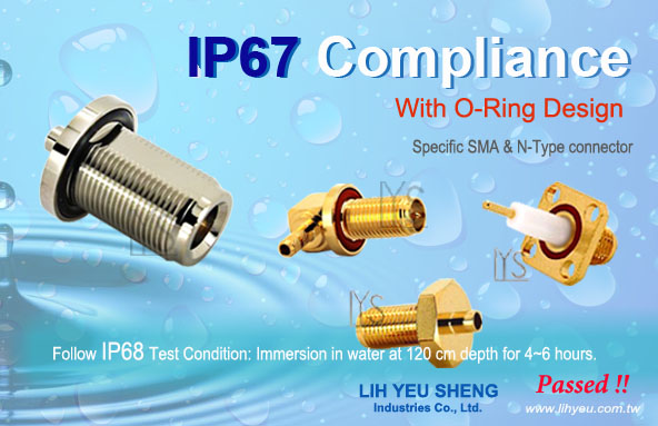 IP67 Compliant_SMA Connector, N-Type Connector