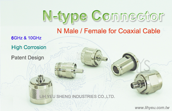 N-Type Connector and Adaptor, LIH YEU SHENG